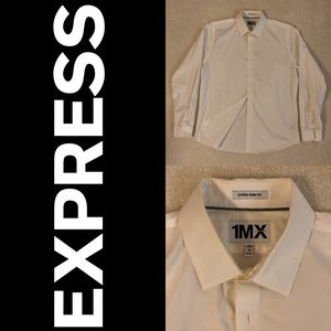 Express dress shirt in white